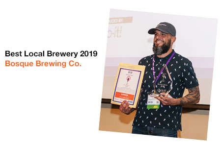 Best Local Brewery 2019 Winner